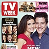 TV Week cover - Ada Nicodemou and Steve Peacocke: Home and Away