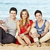 TV Week - Home and Away: Steve Peacocke, Catherine Mack and Lincoln Younes