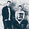 Aaron Jeffery and Matt Nable