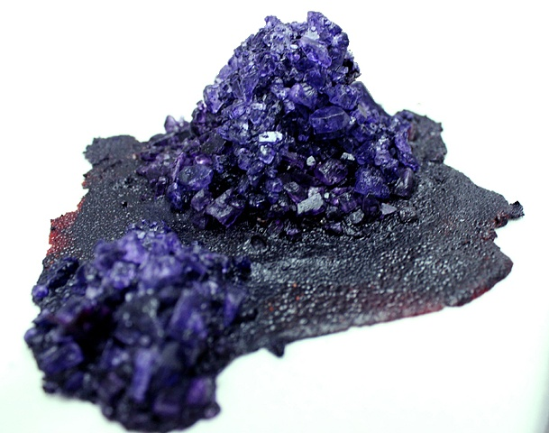 crystals salt dyes crystal david tarafa mounds rocks pink purple blue