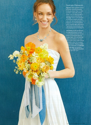Martha Stewart Weddings Summer 2011  Photograph by Thayer Allyson Gowdy