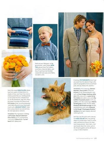 Martha Stewart Weddings Summer 2011  Photograph by Thayer Allyson Gowdy
