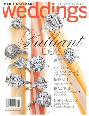 Martha Stewart Weddings Spring 2009