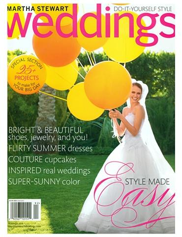 Martha Stewart Weddings  Summer 2009
