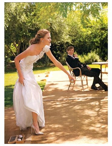 Martha Stewart Weddings  Summer 2009  Photograph by Kayt Jones