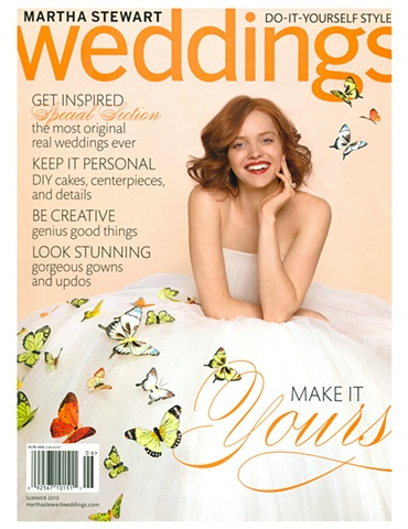 Martha Stewart Weddings  Summer 2010