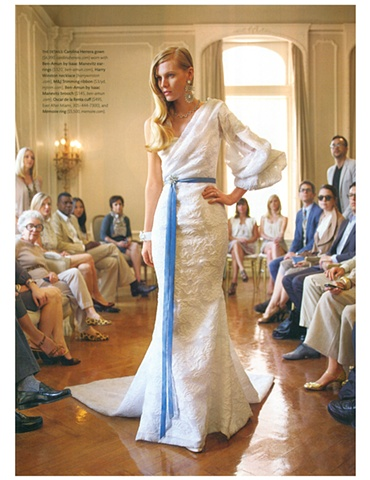 Martha Stewart Weddings  Fall 2010  Photograph by Daniel Riera