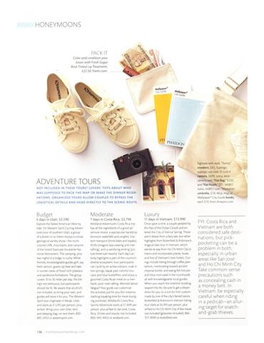 Martha Stewart Weddings  Destination Issue 2009  Photograph by Johnny Miller