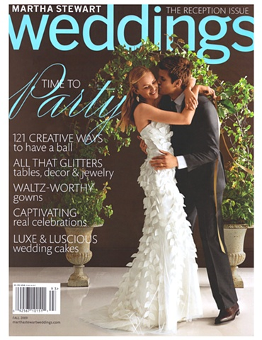 Martha Stewart Weddings  Fall 2009