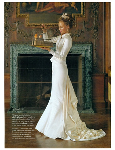 Martha Stewart Weddings  Winter 2011  Photograph by David Armstrong