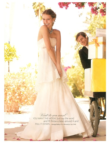 Martha Stewart Weddings  Summer 2009  Photograph by Kayt Jones