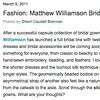 The Bride's Guide Blog: Martha Stewart Weddings  Matthew Williamson Bridal March 2011