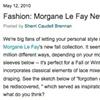 The Bride's Guide Blog: Martha Stewart Weddings  Morgane Le Fay May 2010