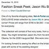 The Bride's Guide Blog: Martha Stewart Weddings  Jason Wu  December 2010