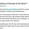 The Bride's Guide Blog: Martha Stewart Weddings  Alexander McQueen March 2011