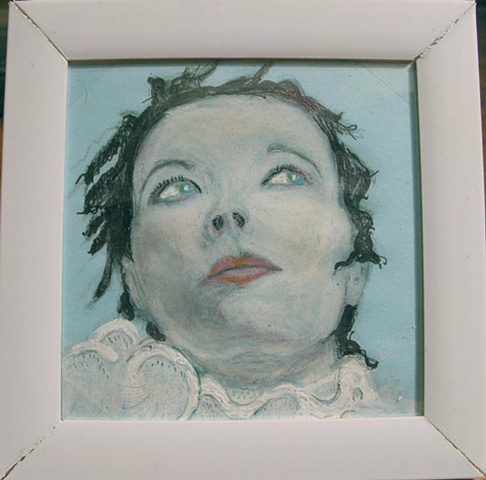post it art, commisions, gift, framed, small art