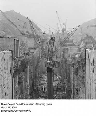 Three Gorges Dam Construction - Shipping Locks