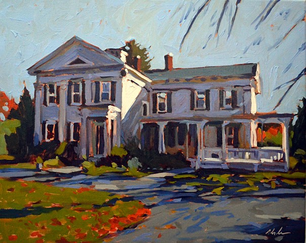 '' Abner Tucker House 3 Dartmouth MA.'' Commission