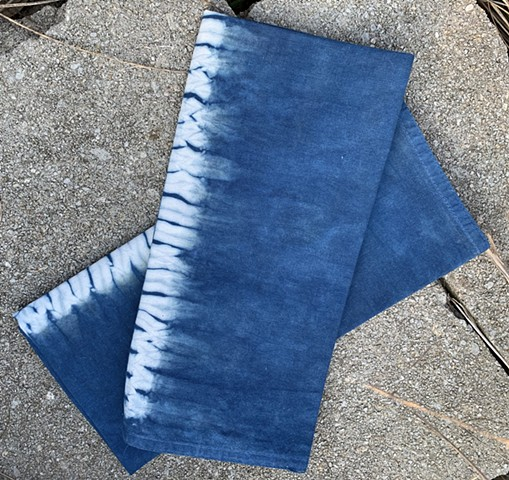 Hand-Dyed Indigo Napkin Set (sold)