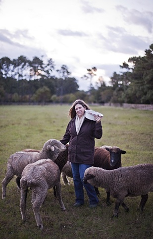 The Island Farm Flock & Shepherd  Photography by Chris Hannant