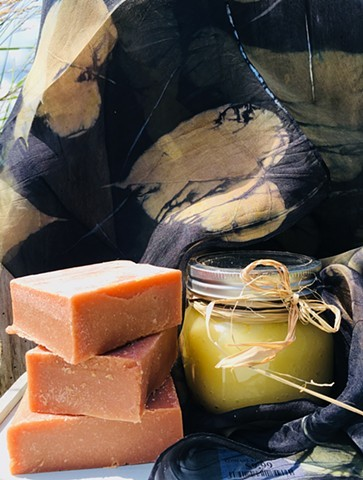 Handcrafted Hempseed Oil Soaps.