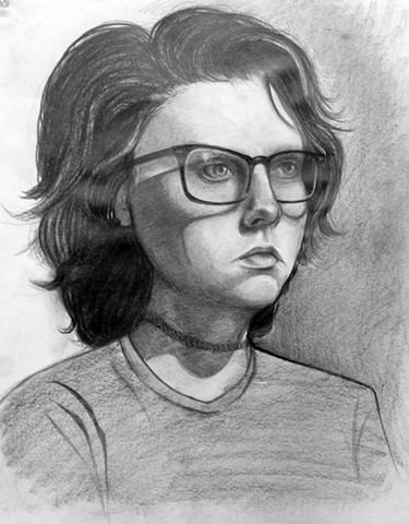 Drawing I: Graphite Portrait From Life
