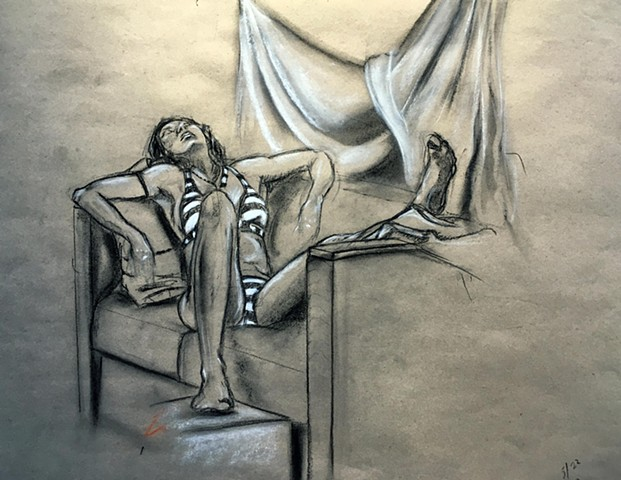 Figure Drawing: Tonal Study