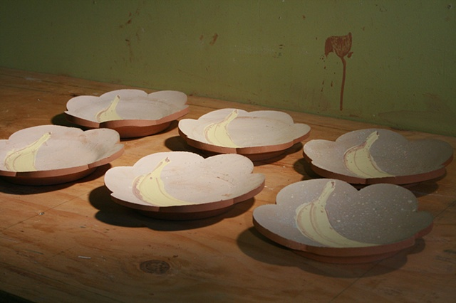 drop city, pottery, michael krueger, collaboration, ceramics, casserole, alex reed,