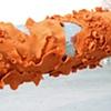 "Jasmyne Graybill Stipplefringe Pole Lichen Galvanize pole, concrete, polymer clay 128"" x 8"" x 13"""