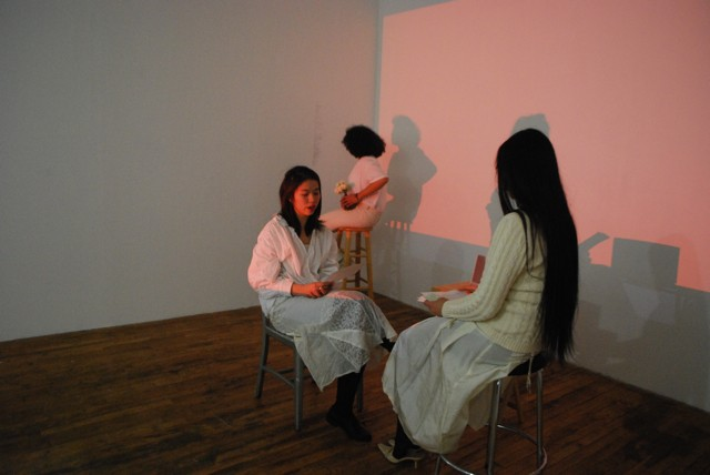 "Installation view from ""False Anatomies"""