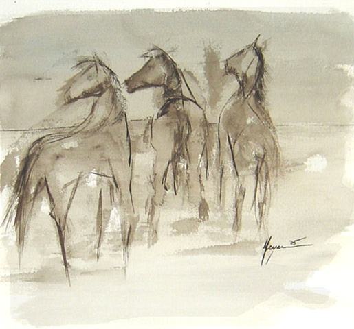 """""""Three Horses"""""""