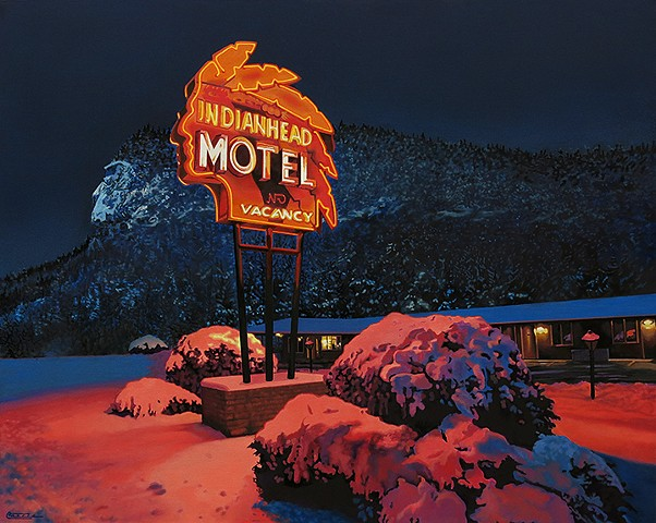 """Indianhead Mountain Motel"""