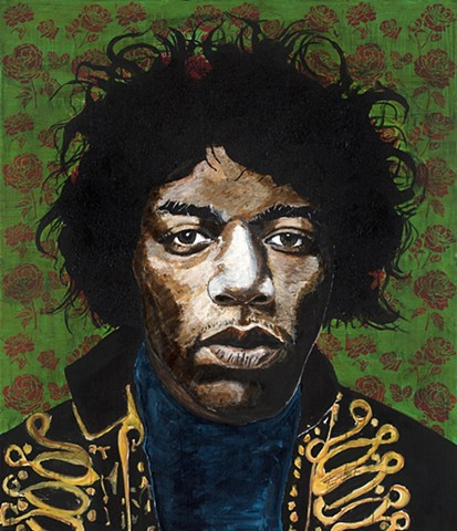 """Hendrix in Green"""