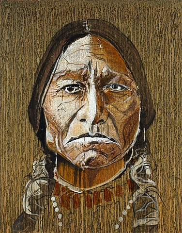 """Sitting Bull in Yellow"""