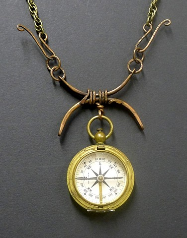 """19th Century Pocket Compass"""