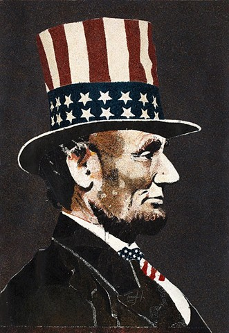"""Lincoln with Hat"""