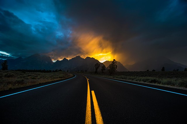 """Road to Tetons"""