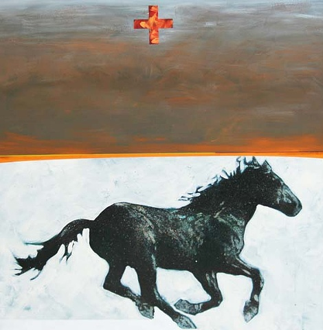 """Horse of the Dust Storm"""