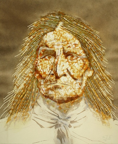"""Geronimo in Sepia"""