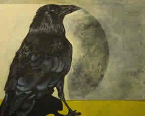 """""""Moon Shadow Raven"""""""
