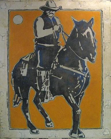 """Branded American Cowboy"""