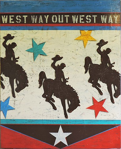 """Three Broncos, Way Out West"""