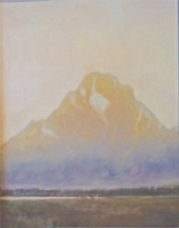 """Evening at Mount Moran"""