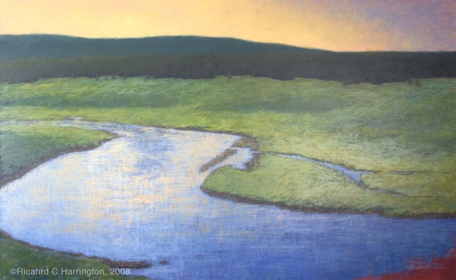 """Hayden Valley Evening"""