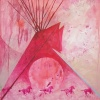 """Red Horse Tipi"""