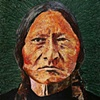 """Sitting Bull in Green"""