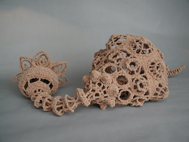 Chenille stem sculpture