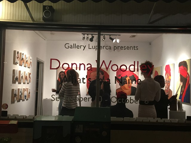 What's in a Name? Solo Exhibition by Donna Woodley presented by Gallery Luperca
