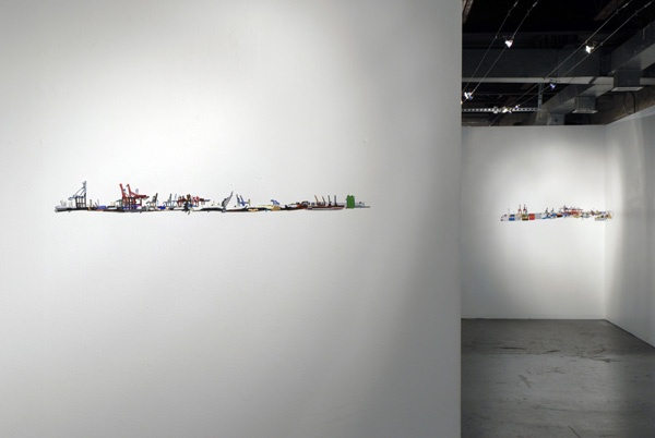 Salt Mountain Horizon (installation view)