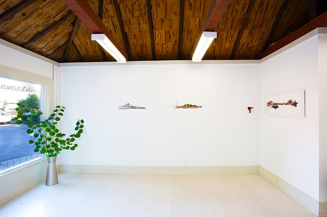 Installation view - Solo show at Studio Blomster September 2013